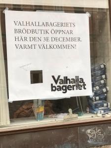 Valhalla bageriet kommer till Odengatan 19